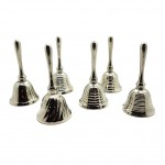 Mini Bells Chrome - 5005N Set of 6 Pcs