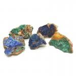 Azurite and Malachite Clusters 1pc