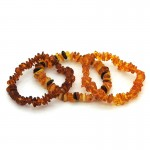 Amber Chip Bracelet - Small Adult