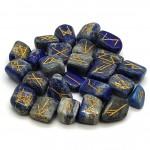 Lapis Rune Stones