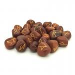 Red Jasper Rune Stones