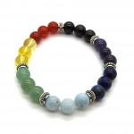 Chakra 3 Bead Ball Bracelet