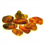 Amber Tumbled Stone 20-40mm (20g)