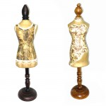 Jewellery Table top Mannequin on a Wooden Stand - 1Pcs