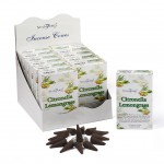 Citronella & Lemon Grass Incense Cones (12 Pks) Stamford