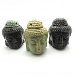 Buddha Head Ceramic Burner OB1 -1 Pc