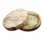 Onyx Natural Marble Trinket Box 11cm 1- Pcs