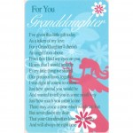 Loving Thoughts - Granddaughter (12 Pcs) LT006
