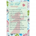 Loving Thoughts - Get Well (12 Pcs) LT028