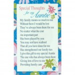 Loving Thoughts - Auntie (12 Pcs) LT034