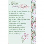 Loving Thoughts - Never give up Hope (12 Pcs) LT035