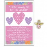 Angel Song Pins - Heavenly Gift Daughter (6 Pcs) AS002