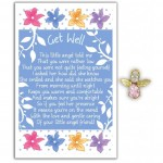 Angel Song Pins - Get Well (6 Pcs) AS004