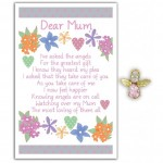 Angel Song Pins - Dear Mum (6 Pcs) AS006