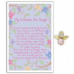 Angel Song Pins - May Friends An Angel (6 Pcs) AS007