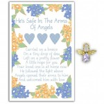 Angel Song Pins - He's Safe In The Arms of Angels (6 Pcs)