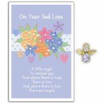 Angel Song Pins - On Your Sad Loss (6 Pcs) AS014