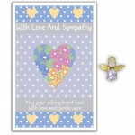 Angel Song Pins - With Love & Sympathy (6 Pcs) AS016