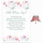 Angel Story Pins - Little Worry Angel (6 Pcs) AST011