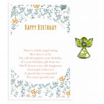 Beautiful Angel Pin - Happy Birthday(6 Pcs) BEA004