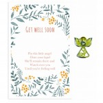 Beautiful Angel Pin - Get Well Soon(6 Pcs) BEA007