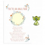 Beautiful Angel Pin - Nan(6 Pcs) BEA016