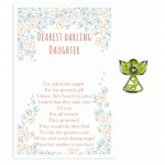 Beautiful Angel Pin - Darling Daughter (6 Pcs) BEA017