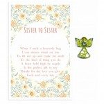 Beautiful Angel Pin - Sister to Sister (6 Pcs) BEA019