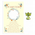 Beautiful Angel Pin - Always Friend (6 Pcs) BEA021