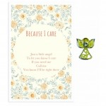 Beautiful Angel Pin - Because I Care (6 Pcs) BEA022