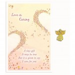Love Is Angel Pin - Caring (6 Pcs)
