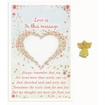 Love Is Angel Pin - In this message (6 Pcs)