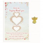 Love Is Angel Pin - Saying Thank You (6 Pcs)