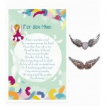 Lovely Angel Pins S2 - For You Mum (6 Pcs) LOA038