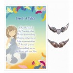 Lovely Angel Pins S2 - Mum in a Million (6 Pcs) LOA045