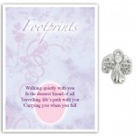 Touched by an Angel Series 2C Footprints (6 pcs) TB009