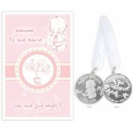Welcome To The World Girl Coin (6 Pcs) COI010