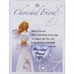 Small Heart - Cherished Friend (6 Pcs) HAFD12