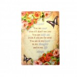 Give Love Always Plaque - Sister (1 Pc) GLA019