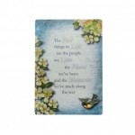Give Love Always Plaque - Best Things in Life (1 Pc) GLA024