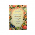 Give Love Always Plaque - Butterflies (1 Pc) GLA025