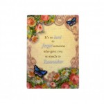 Give Love Always Plaque - Remember (1 Pc) GLA026