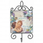 Heavenly Home - Angel Hook Plaque (1 Pc) HHAN04