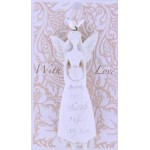 LHA White Angel- With This Gift I Give My Love (6 Pcs)