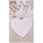 LHA White Heart - Bless Your Loving Heart (6 Pcs)