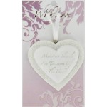 LHA White Heart - My Heartfelt Thanks (6 Pcs)
