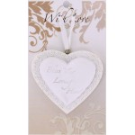 LHA White Heart - A Tiny Heart (6 Pcs)
