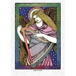 Angel of Music Greeting Card