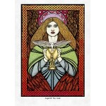 Angel of the Grail Greeting Card