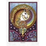 Celtic Unicorn Greeting Card